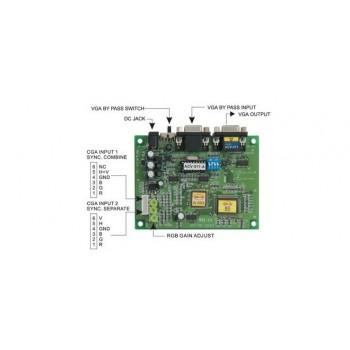 ACV-011 - Konwerter CGA - VGA